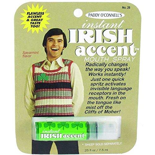 Instant Irish accent breath freshener 21