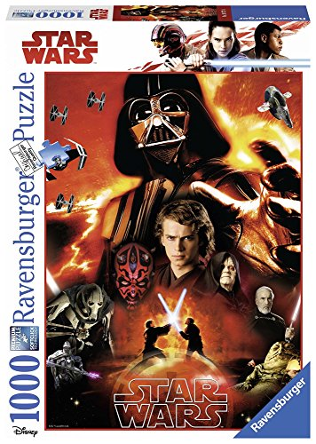 Ravensburger Italy- Puzzle Star Wars, 1000 Pezzi, 19777 4