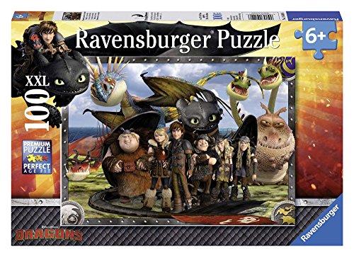 Ravensburger Italy Dragons Puzzle 100 Pezzi,, 10549