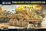 Bolt Action - Puma, SD.KFZ 234/2 Armoured Car - WGB.WM.506 -. Warlord Games