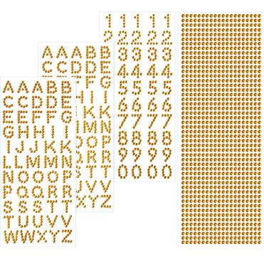 Grad-Deckel-Dekoration-Set-Funkeln-Alphabet-Brief-Aufkleber-und-Edelstein-Grenze-Aufkleber-fr-Graduierung-Deckel-und-Andere-Kunsthandwerk
