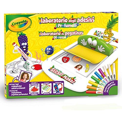 CRAYOLA- Laboratorio Profumelli Set per Creare Adesivi Profumati, Multicolore, 25-7247