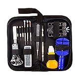 Laniakea 30Pcs Portable orologio kit di riparazione della custodia, apri del regolatore di rimozione della molla pin bar orologiaio strumenti di riparazione professionale