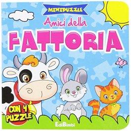 Amici della fattoria. Minipuzzle
