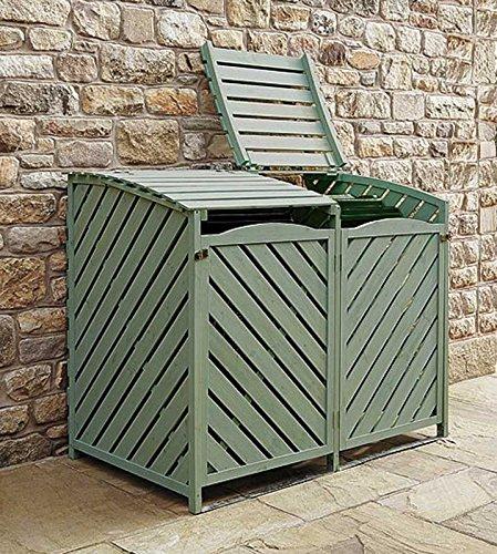Other Sage Green Double Wheelie Bin Storage Review