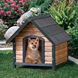 Precision Pet Products Extreme Outback Country Lodge Dog House, Medium by Precision Pet Products- Drop Ship