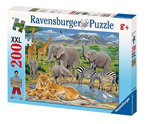 Ravensburger 12736 Animali in Africa- Puzzle da 200 pezzi (XXL)