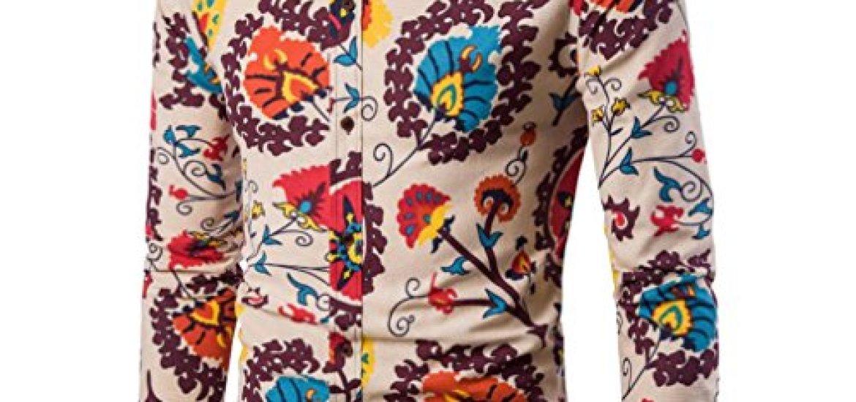 Los mejores 10 Camisa Hombre Estampada - Guía de compra 1880e5fb620