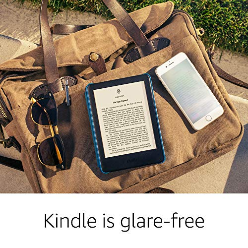 """All-New Kindle (10th Gen), 6"""" Display now with Built-in Light, 4 GB, Wi-Fi (White) 16"""