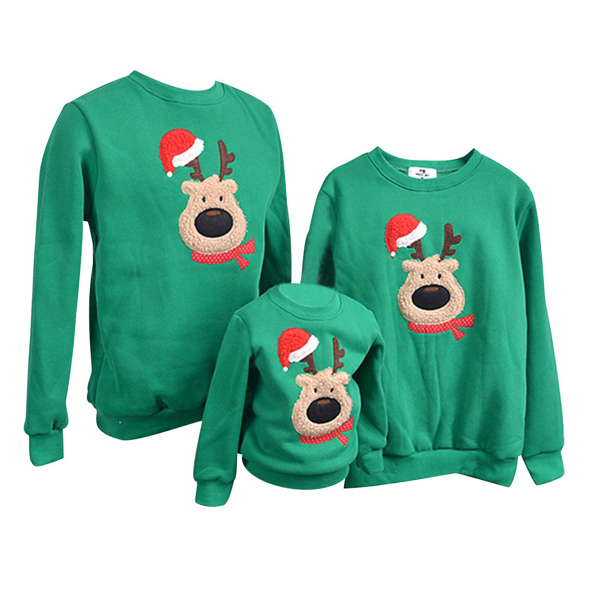 Couples Christmas Sweaters.Family Matching Christmas Jumpers Funny Xmas Jumpers Sweatshirts Novelty Ugly Christmas Sweaters Pullover Reindeer Mens Womens Girls Boys Kids Festive