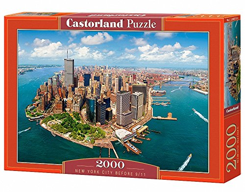 Castor Paese C 200573 – New York City Before 9/11, Puzzle 2000 Pezzi