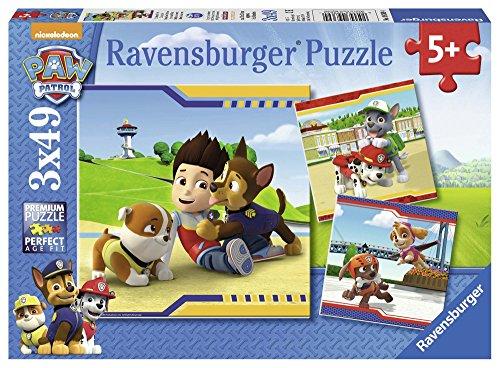 Ravensburger Italy Paw Patrol 3 Puzzle da 49 Pezzi,, 09369