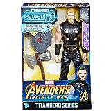 Hasbro Avengers e0616ew0-Marvel Titan Hero Thor Action Figure, con Power FX Pack
