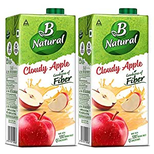 B Natural Apple Juice 1L, (Pack of 2): Amazon.in: Grocery & Gourmet Foods