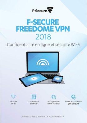 F-Secure Freedome VPN 2018 - 1 an / 1 appareil - toutes les plateformes [Code Jeu ]