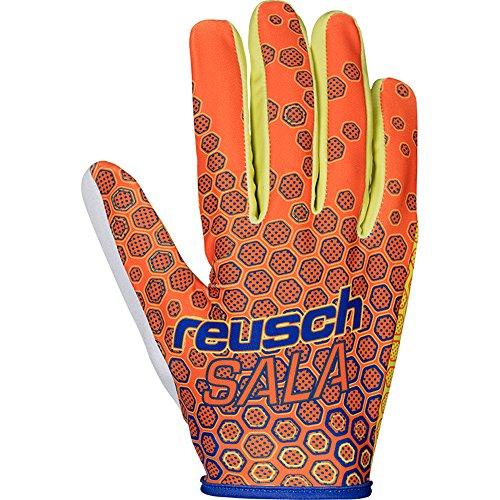 REUSCH Futsal Pro 37 70 300 Guanti da portiere calcetto arancione uomo
