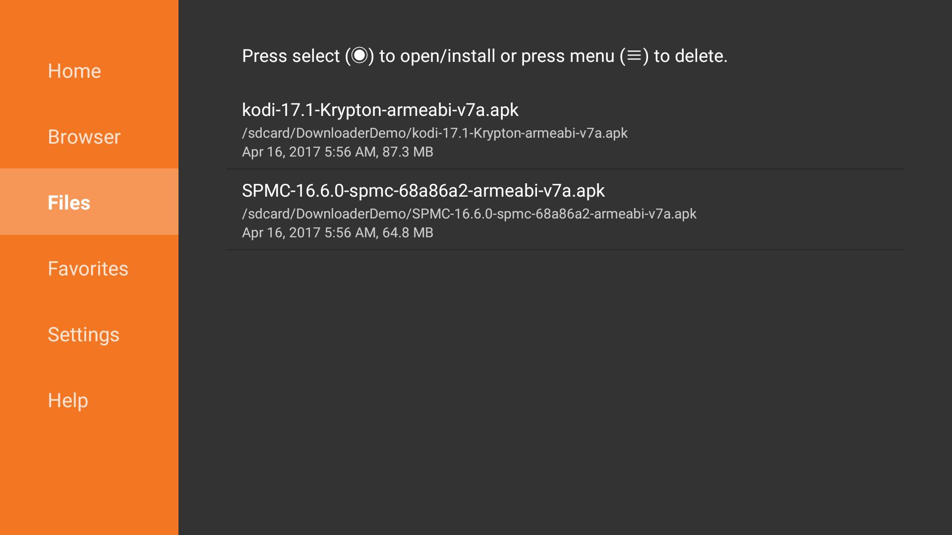 Downloader Screenshot