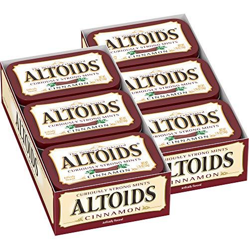 Altoids menthes Curieusement forts, cannelle, Boîtes 1.76 onces (pack de 12) 21