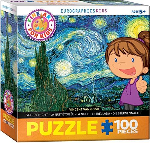 Eurographics 6100-1204 - Puzzle'Notte stellata', 100 pezzi