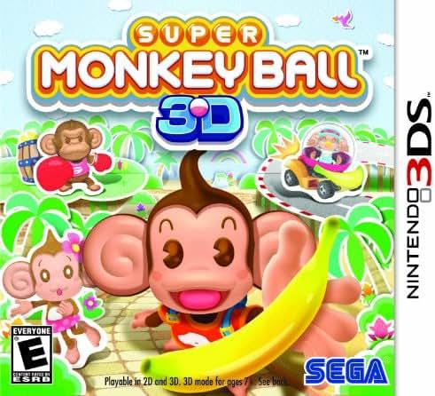 Super Monkey Ball 3D – Nintendo 3DS