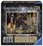 Ravensburger 19955 Exit Im Vampirschloss 19955-Exit 6 Erwachsenenpuzzle