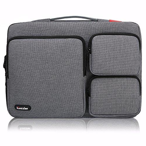 iCozzier 13-13.3 pollici borsa a mano per portatili con tre tasche laterali/borsa...