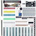 Elegoo Kit Elettronico con Breadboard, Cavetti, Resistenze, Condensatori, LED, Potenziometri (235 Pezzi) per Arduino UNO MEGA2560 Raspberry Pi