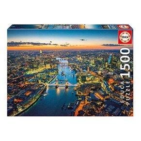 Educa Borrás - Puzzle Londres Desde el Aire, 1500 Piezas (16765)