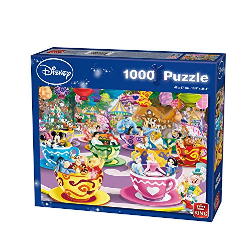 1000 Piece Walt Disney Tea Cups Jigsaw Puzzle