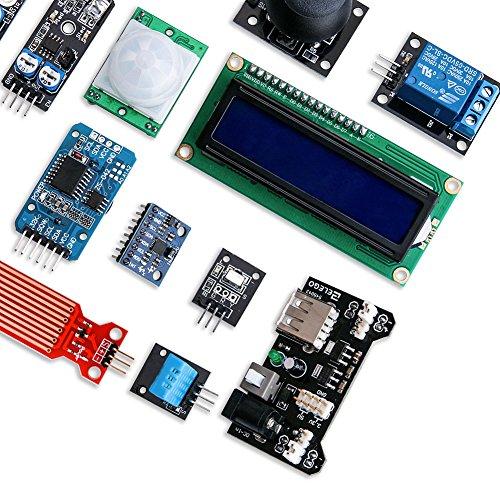 61ucBUX70hL - ELEGOO Actualizado 37-en-1 Kit de Módulos de Sensores con Tutorial Compatible con Arduino UNO R3 Mega 2560 Nano Raspberry