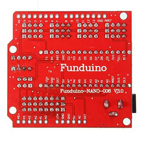 61uroi08j2L - WINGONEER Expansion Prototype Shield Módulo de Placa de extensión de E/S para Arduino Nano V3.0