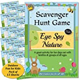 Scavenger Hunt Game - Eye Spy Nature: Fun activity for kids, families & groups