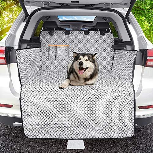 OMORC Protezione Bagagliaio Auto, 100% Impermeabile e Antiscivolo Telo Auto per Cani Protezione...