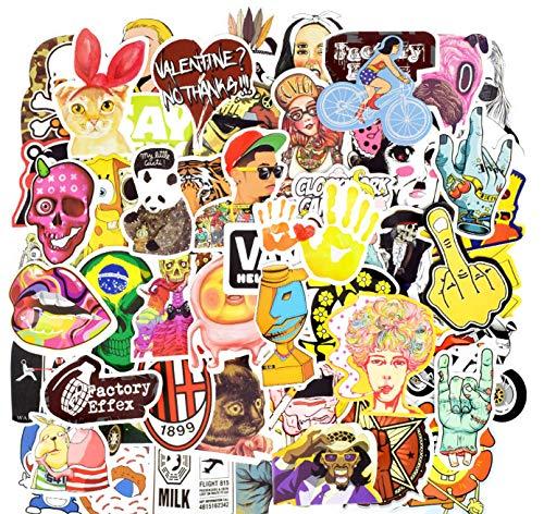 DZCYAN 100 pz Cartoon Sticker Punk colorato Animali Gioco Impermeabile Adesivi Impermeabili per...