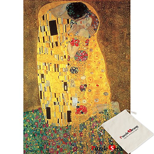 B&N Liebespaar Il Bacio - Gustav Klimt - 2000 Pezzi Mini Puzzle [Pouch Inclusa]