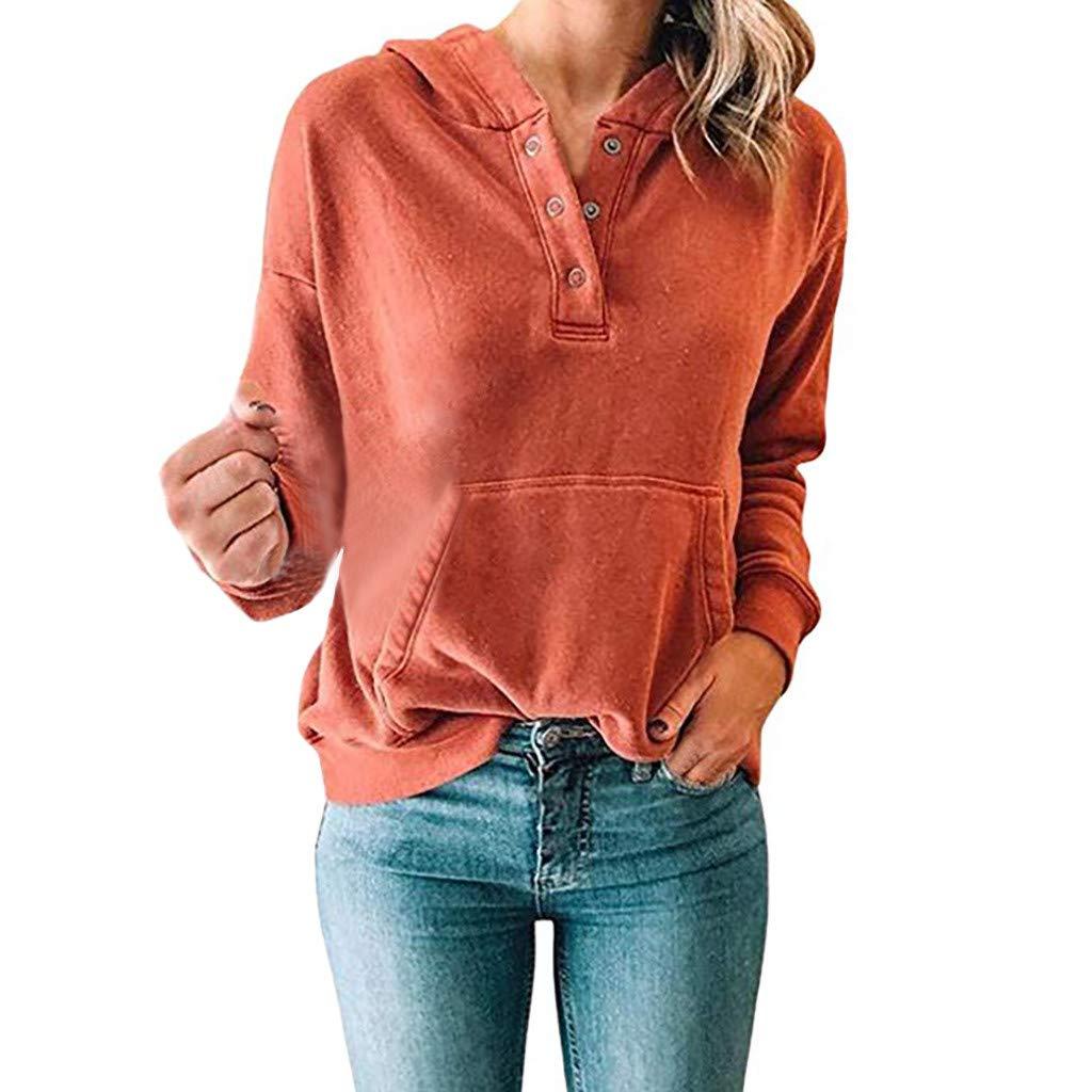 ea33a6af3ad1 Toamen Womens Hoodies Sweatshirt Sale 2019 New Ladies Long Sleeve ...