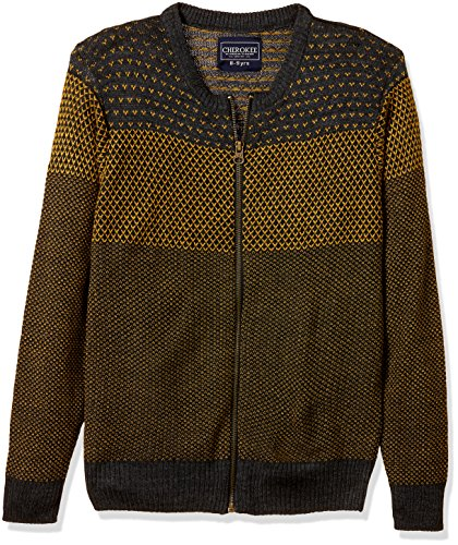 Cherokee by Unlimited Boys' Cotton Sweater (272349556_ASSORTED_09Y_FS)
