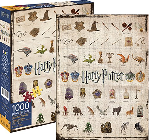 Aquarius, Puzzle di Harry Potter (1000 Pezzi)
