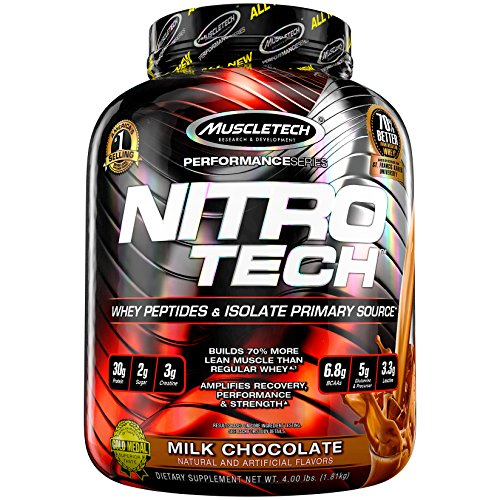 MuscleTech Nitrotech Performance Series - 4 lbs (Milk Chocolate)