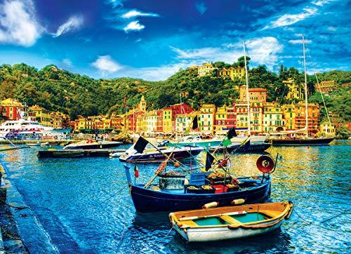 Eurographics 8000-0948 - Portofino, Italy (Small Box) - puzzle 1000 pezzi