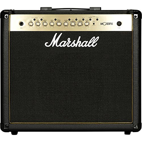 Marshall MG101GFX 100W Black and Gold Guitar Combo