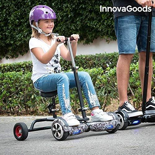 InnovaGoods ig115908hoverbike per Acquario, Unisex Bambini, Nero, Taglia Unica