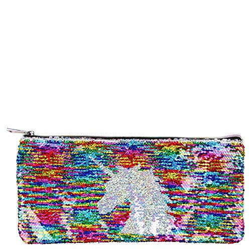 Unicorn Sequin Large Pencil Case