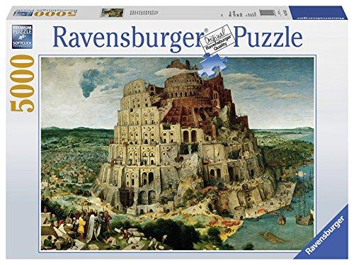 Ravensburger Italy Puzzle in Cartone Brughel: La Torre di Babele, 5000 Pezzi 17423