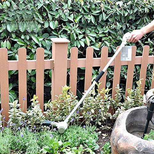 sungmor 46inch stand-up 360° giratorio ajustable cabeza SERVO-SYSTEM, Vale la Pena de césped jardín mango largo tijeras de podar