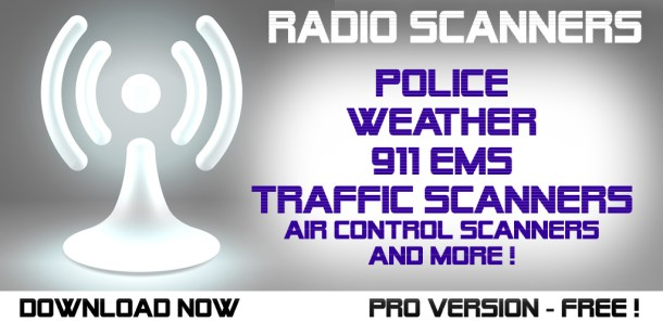 Police scanner -  Live police Scanners and Police Radio, Fire Radio, weather forecast and 911 Emergency, fire amd more Screenshot
