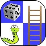 Leiterspiel - Schlangen und Leitern - Brettspiel - 2 bis 4 Spieler Spiel