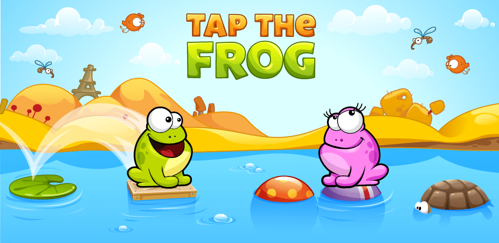 Tap The Frog HD Screenshot