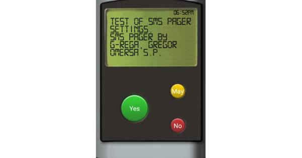 SMS pager