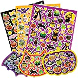 Halloween Stickers Value Pack for Children to Decorate Cards Crafts and Collage (Pack of 230)